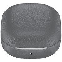 Предпазен калъф Samsung, За Buds Live / Pro, Leather, Gray