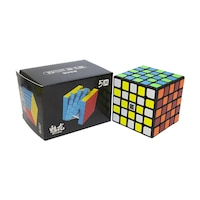 Moyu Meilong 5M, Mágneses Rubik kocka 5x5x5, Black Version