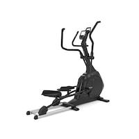 Bicicleta eliptica KETTLER OMNIUM 300, Volanta 18 kg, Greutate utilizator 130 Kg, Bluetooth, Suport telefon/tableta, Roti transport