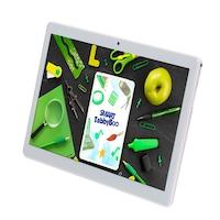 SMART TabbyBoo® EduLearn TOP (2021) Tablet, 10 hüvelyk, G+G touchscreen, 3GB-os DDR3 RAM, 32GB-os ROM, 4G LTE, kettős SIM, Android 10.0 GMS -Ezüst
