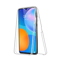Силиконов калъф Forcell Huawei P Smart 2021, Full Face 360 Кейс, Прозрачен