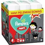 Pampers Pants Az Igazság Ligája szuperhősös havi pelenkacsomag, 6-os méret, 15+ kg, 120 db