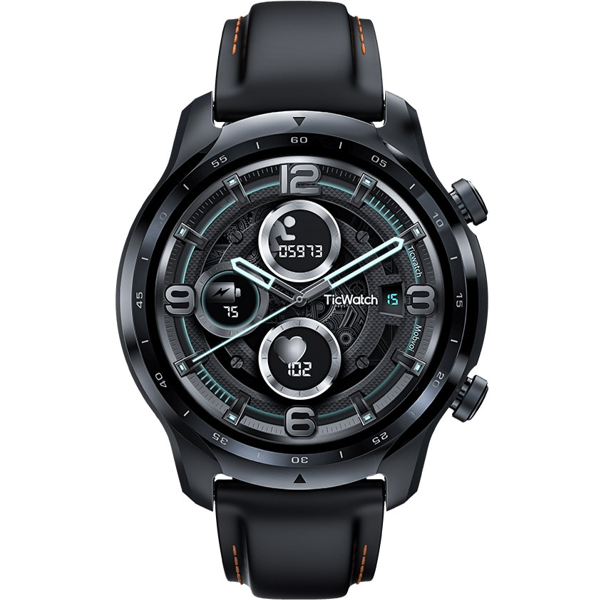 Fotografie Ceas smartwatch Mobvoi, TicWatch Pro 3 GPS, Black