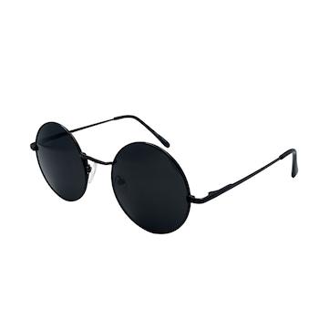 Ochelari de soare Rotunzi Nevermore™ Trend Retro John Lennon protectie UV400 Negru