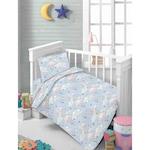 Спален комплект за легло 120 x 60 см Mappy Moon & Clouds, 3 части
