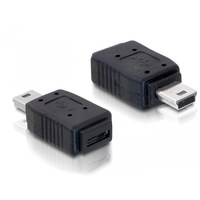 Delock 65155 USB adapter USB mini apa/USB micro-A+B anya