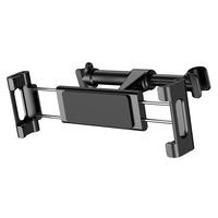 """Baseus Backseat fejtámlára szerelhető telefon és tablet tartó (4,7""""- 12,9"""" méret) (SUHZ-01), Fekete"""