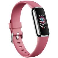 Fitbit Luxe okosóra, platinum/rózsaszín