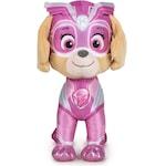 Плюшена играчка Paw Patrol Super Paws Mighty Pups 386541, 19см, Sky, Розов