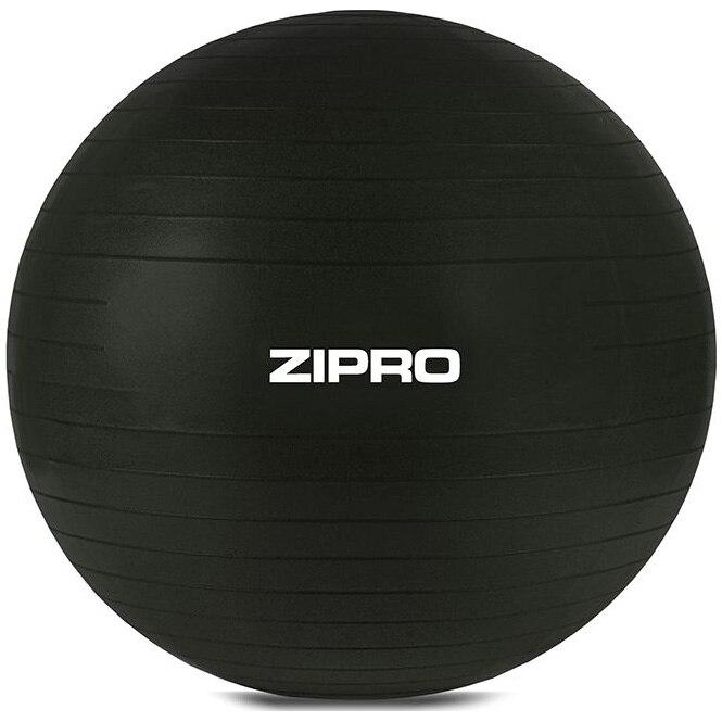 Fotografie Minge fitness/yoga/pilates Zipro, 75 cm, anti-burst, negru