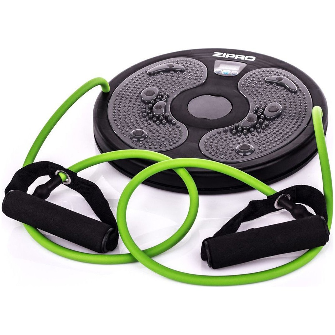 Fotografie Twister cu corzi elastice Zipro, negru/verde