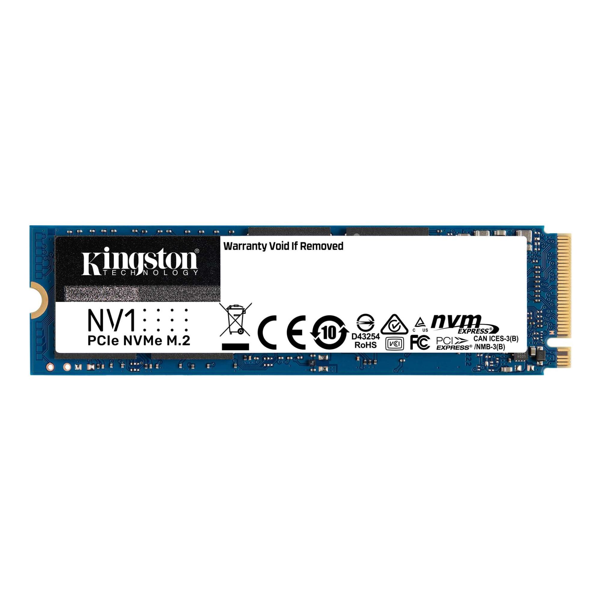 Fotografie Solid State Drive (SSD) Kingston NV1 500GB, NVMe, M.2.