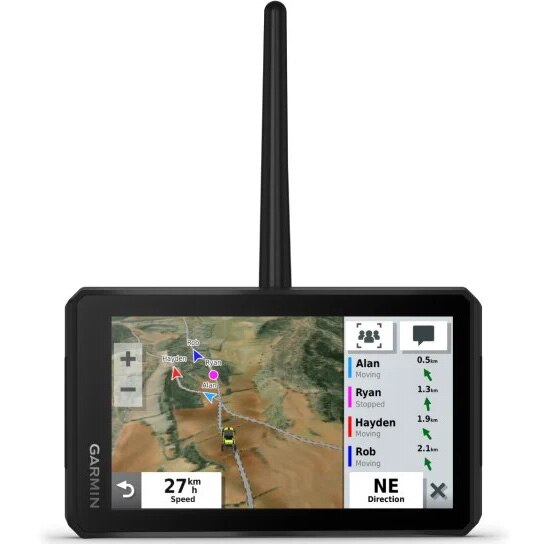 Fotografie GPS Garmin Tread PowerSport Navigator