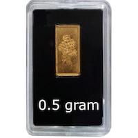 Златно кюлче Rusalia Честит рожден ден, 0.5 грамa, Au 999.9