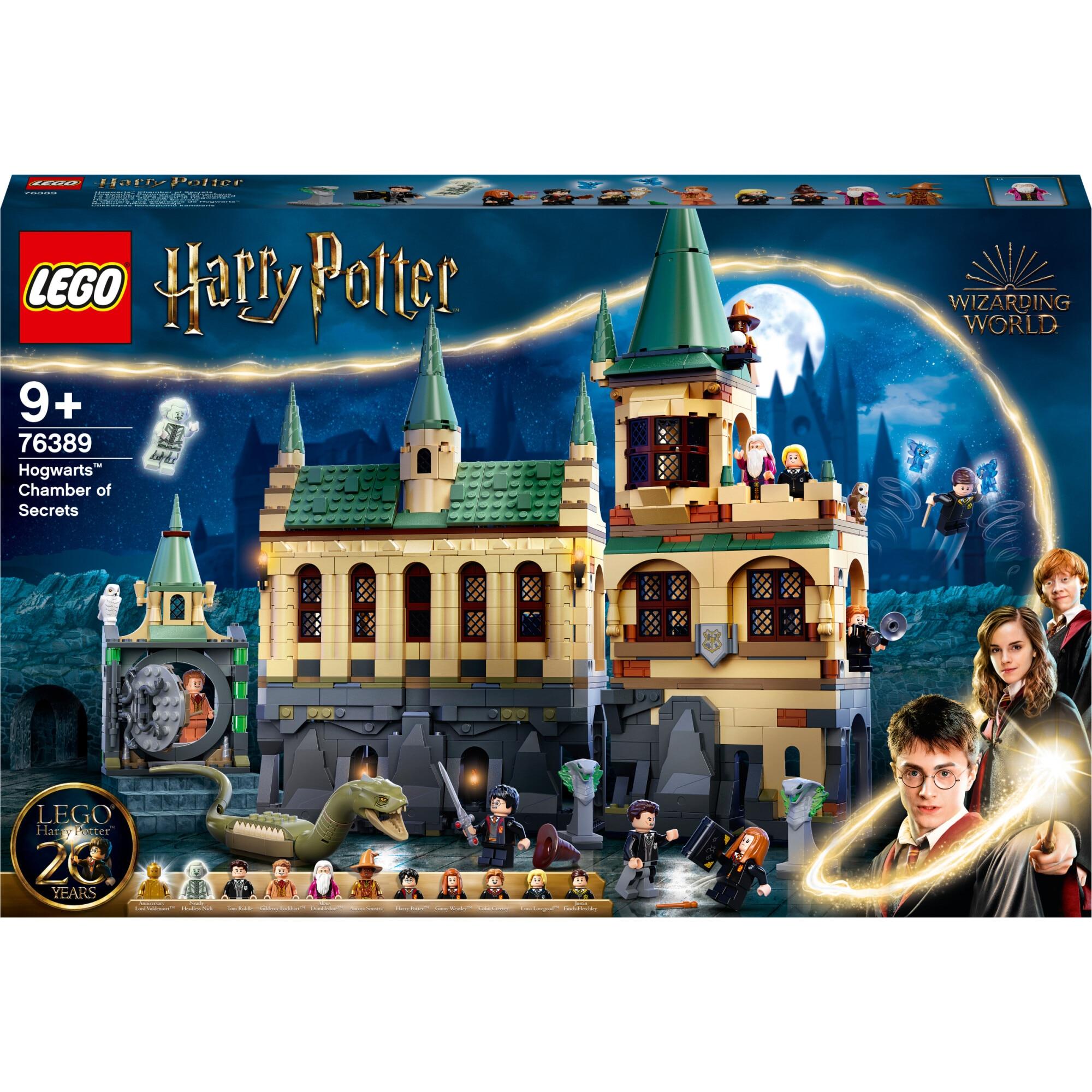 Fotografie LEGO Harry Potter - Camera secretelor Hogwarts 76389, 1176 piese