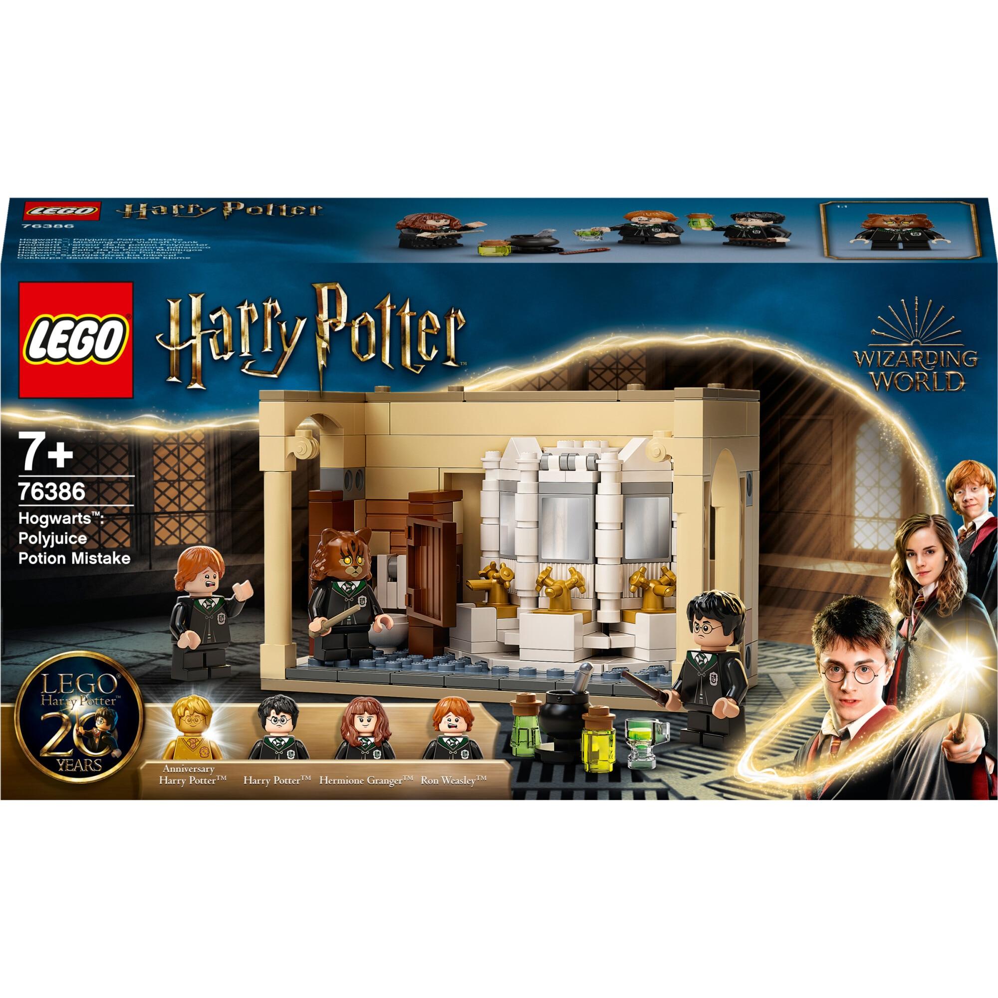 Fotografie LEGO Harry Potter - Hogwarts: Greseala cu Polipotiunea 76386, 217 piese