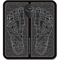 Elektromos lábmasszírozó szőnyeg, kör mintával