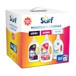Surf mosógél mix: Tropical, Black orchid, White