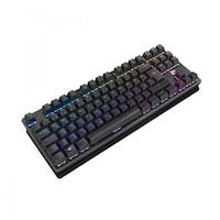 White Shark GK-2101 SPARTAN-X mechanikus gaming billentyűzet, red switch, nemzetközi kiosztás