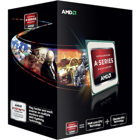 Procesor AMD A6 X2 5400K, 3600MHz, Socket FM2, Black Edition