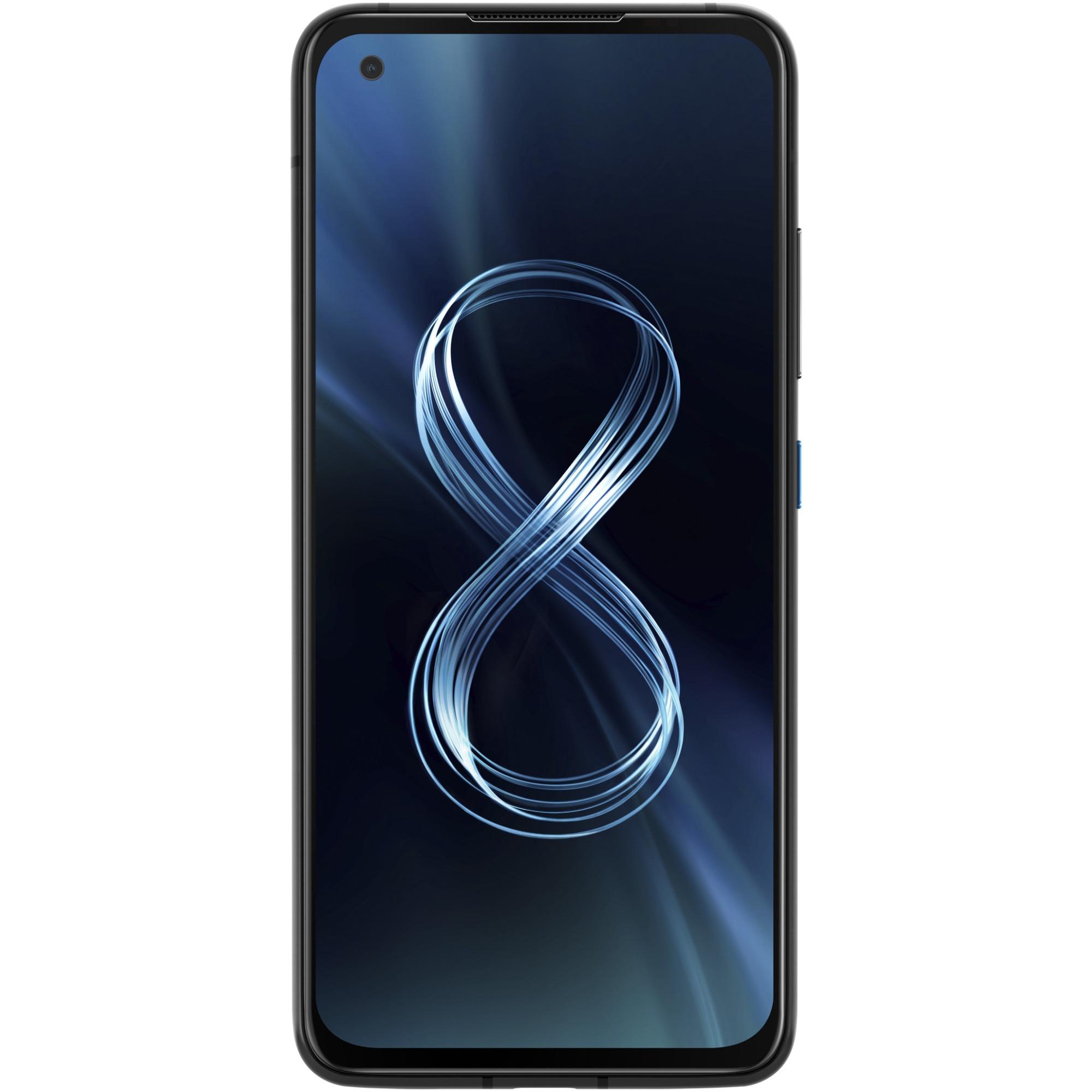Fotografie Telefon mobil ASUS Zenfone 8, Dual SIM, 256GB, 16GB RAM, 5G, Obisdian Black
