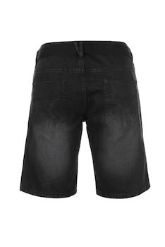 Мъжки къси дънки Pierre Cardin Web Belt SH, Черен