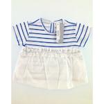 IDEXE kislány csíkos kék póló - 2-3 év, 98