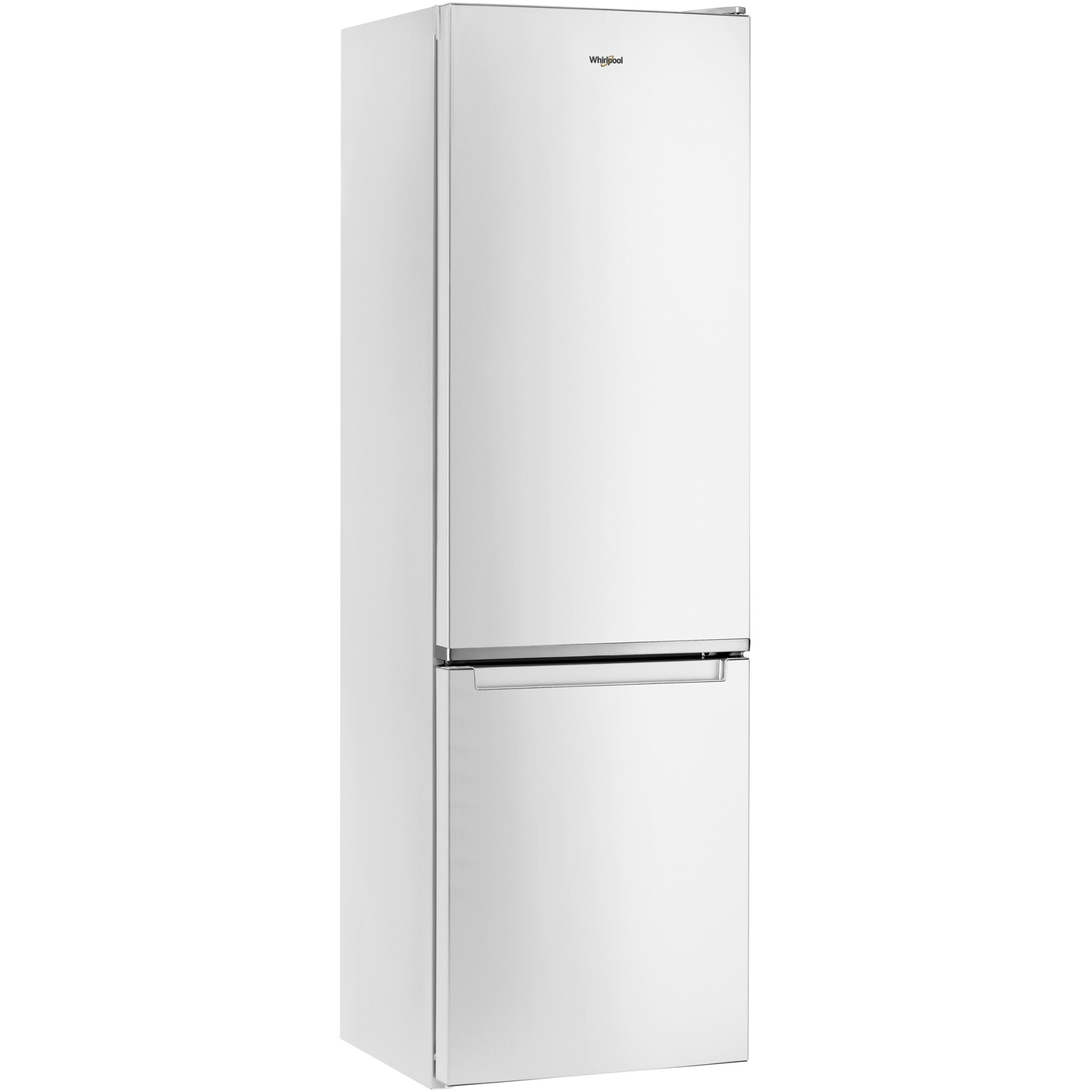 Fotografie Combina frigorifica Whirlpool W9921CW, 348l, Clasa E, Dual No Frost, 6th Sense, H 201 cm, Alb