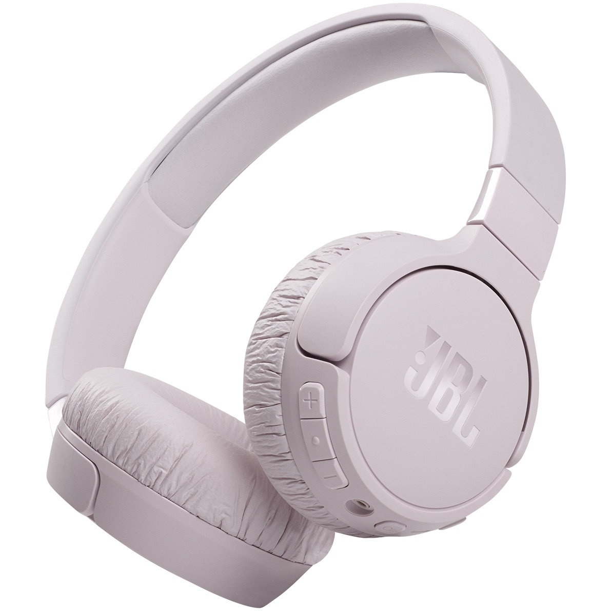 Fotografie Casti audio on-ear JBL Tune 660NC, Wireless, Active noise cancelling, Bluetooth, Asistent vocal, Roz