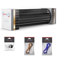 Комплект Инфрачерено нагревателно фолио Warmcoin ECO, ширина 50см., 180Вт/м², 2,5м² - 450Вт.