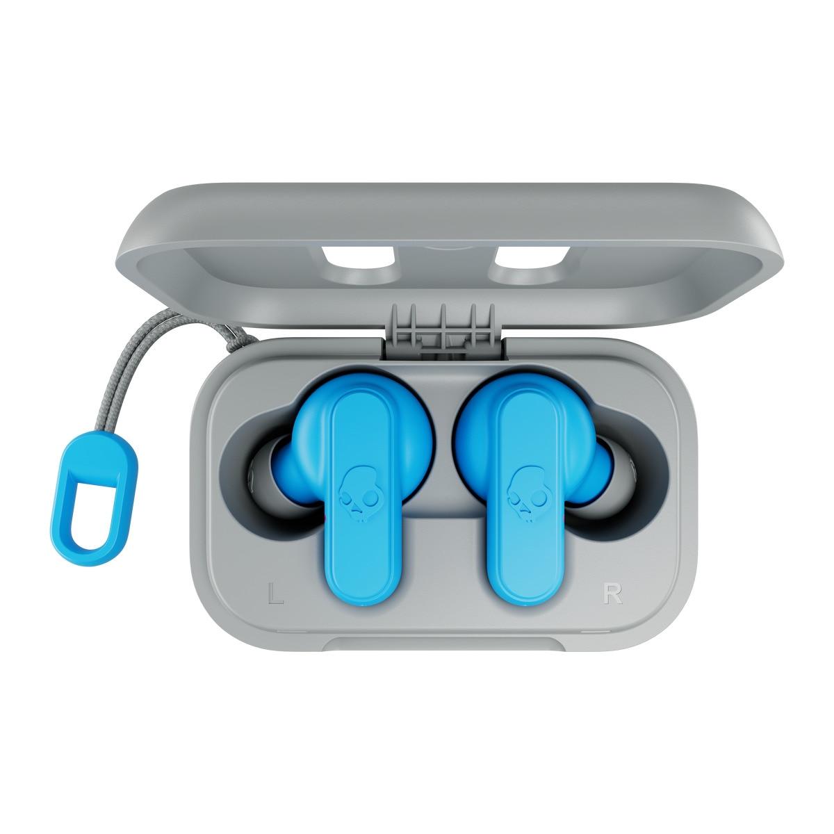 Fotografie Casti Audio In-Ear, Skullcandy Dime True wireless, Bluetooth, Light Grey Blue