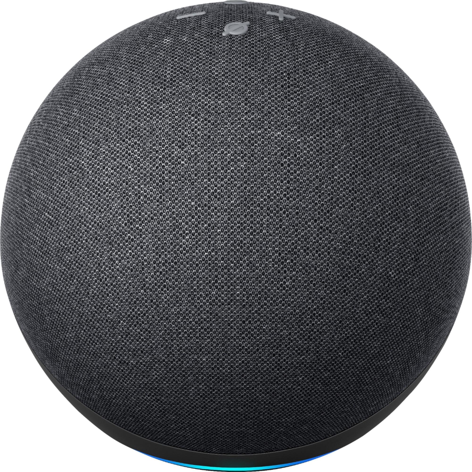 Fotografie Boxa inteligenta Amazon Echo 4, Control Voce Alexa, Wi-Fi, Bluetooth, Dolby, Negru