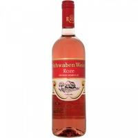 Vin Rose Demidulce CRAMELE RECAS Schwaben Wein, Burgund Rose, 13% Alcool, 0.75 l