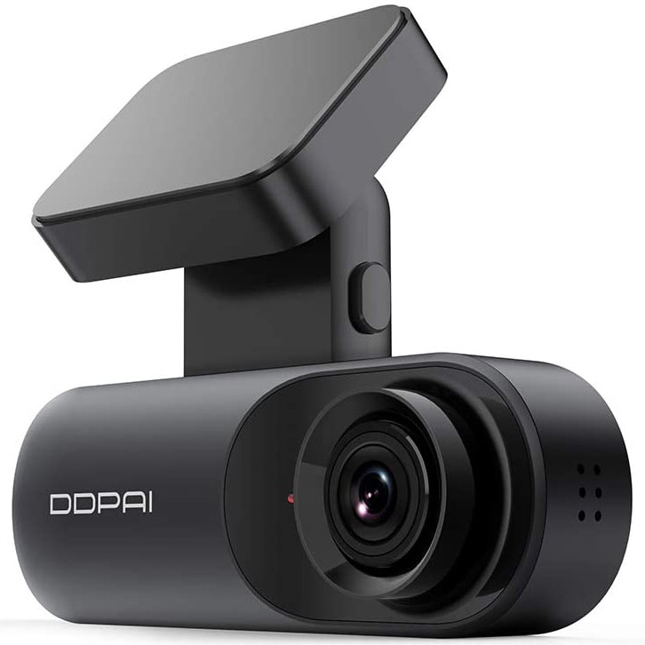 Fotografie Camera auto DDPai Mola N3 GPS Ultracompacta,Filmare Ultra HD 2K 1600P, WDR, WiFi, ADAS