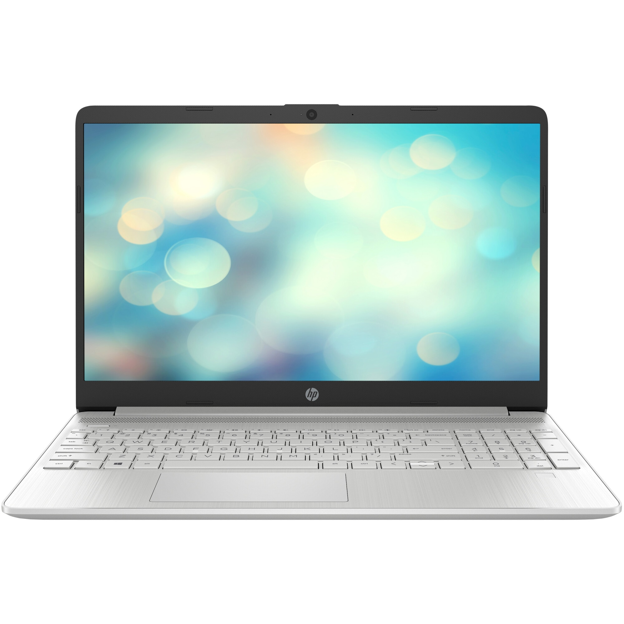 "Fotografie Laptop HP 15s-eq1040nq cu procesor AMD Ryzen™ 7 4700U, 15.6"", Full HD, 16GB, 1TB SSD, AMD Radeon™ Graphics, Free DOS, Natural silver"