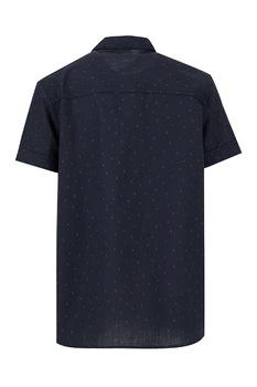 DeFacto, Camasa tip tunica cu imprimeu, Bleumarin