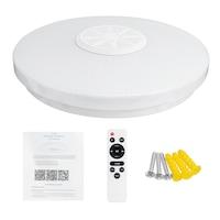 120W Bluetooth Mennyezeti Lámpa RGB Színes Hangszóróval Távirányítóval 30cm