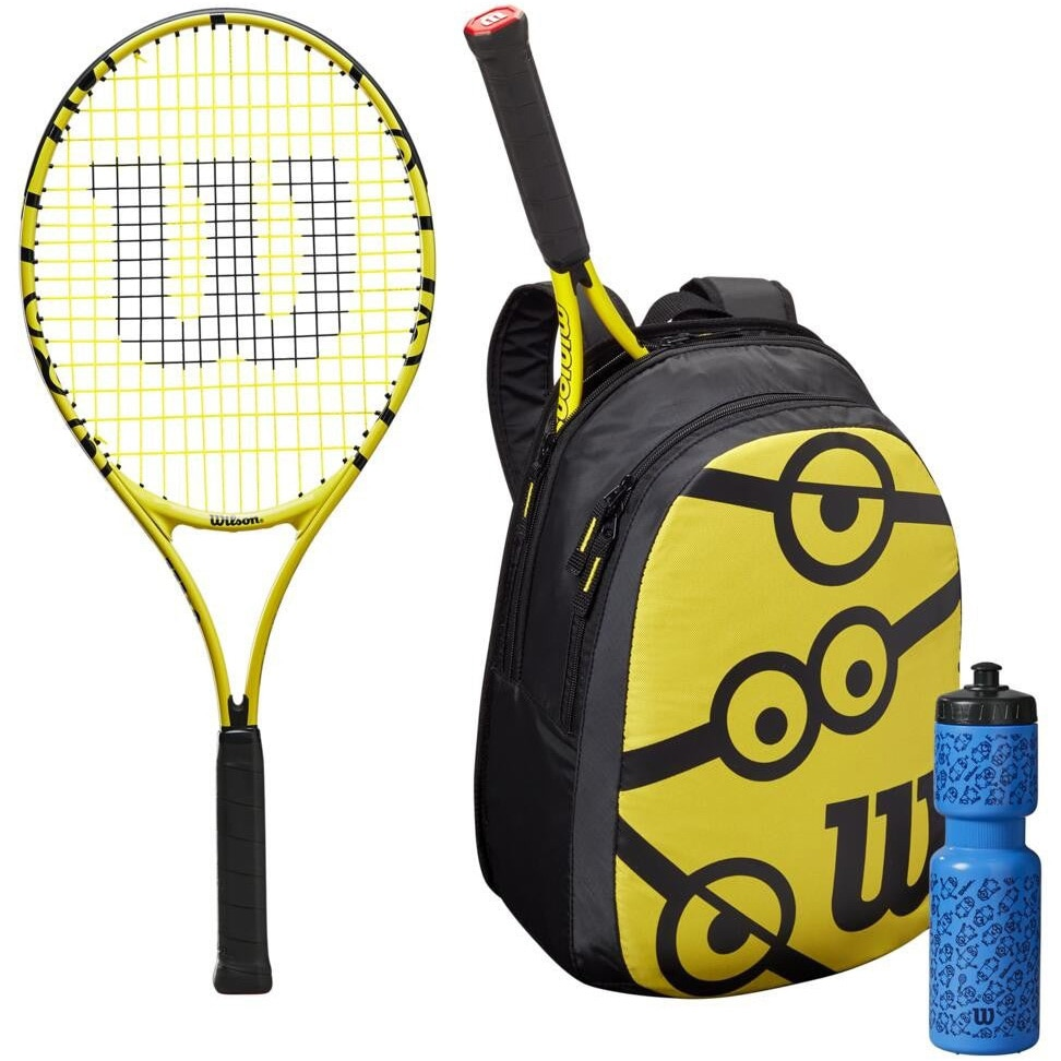 Fotografie Kit tenis pentru incepatori Wilson Minions 25