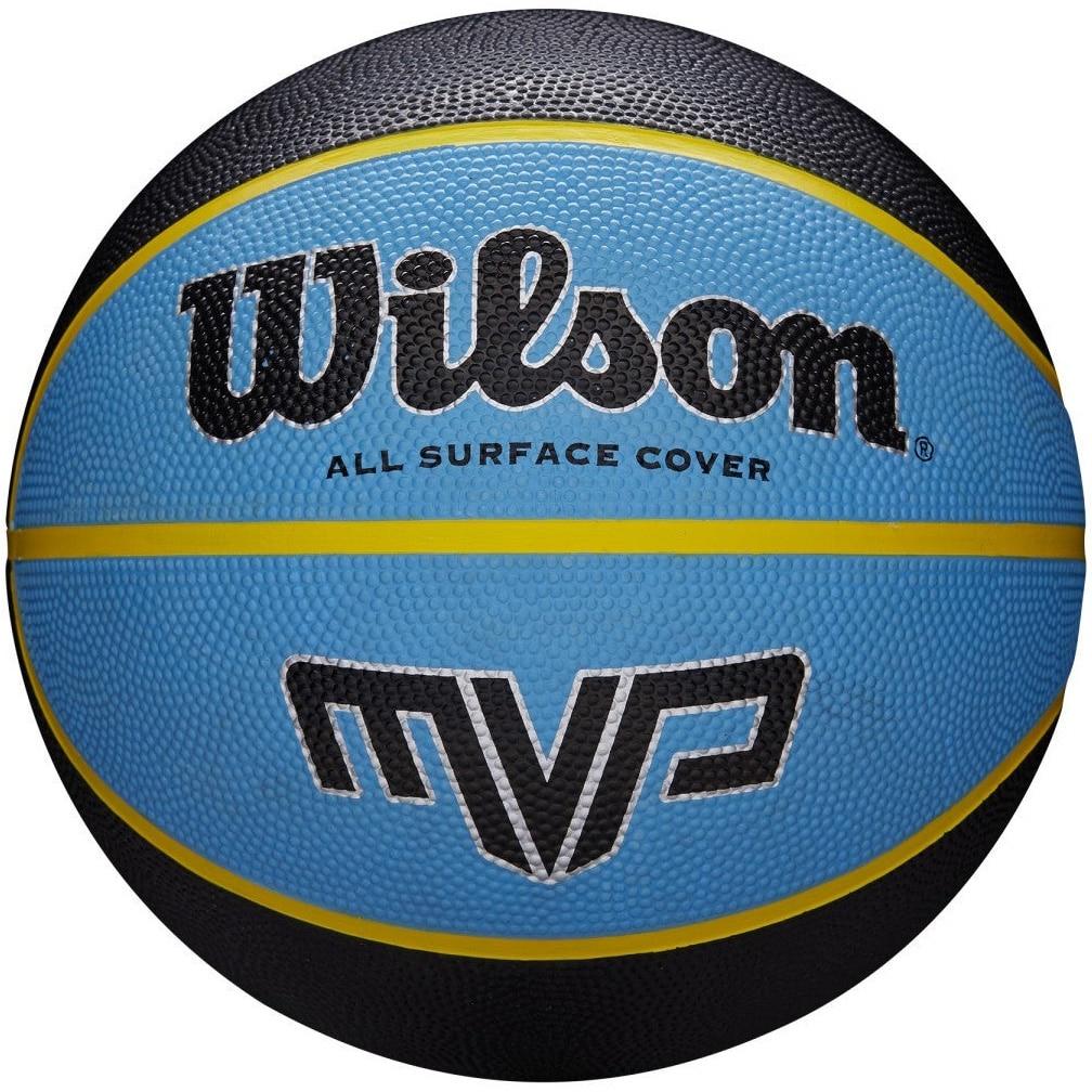 Fotografie Minge baschet Wilson MVP, marime 7, Negru/Albastru