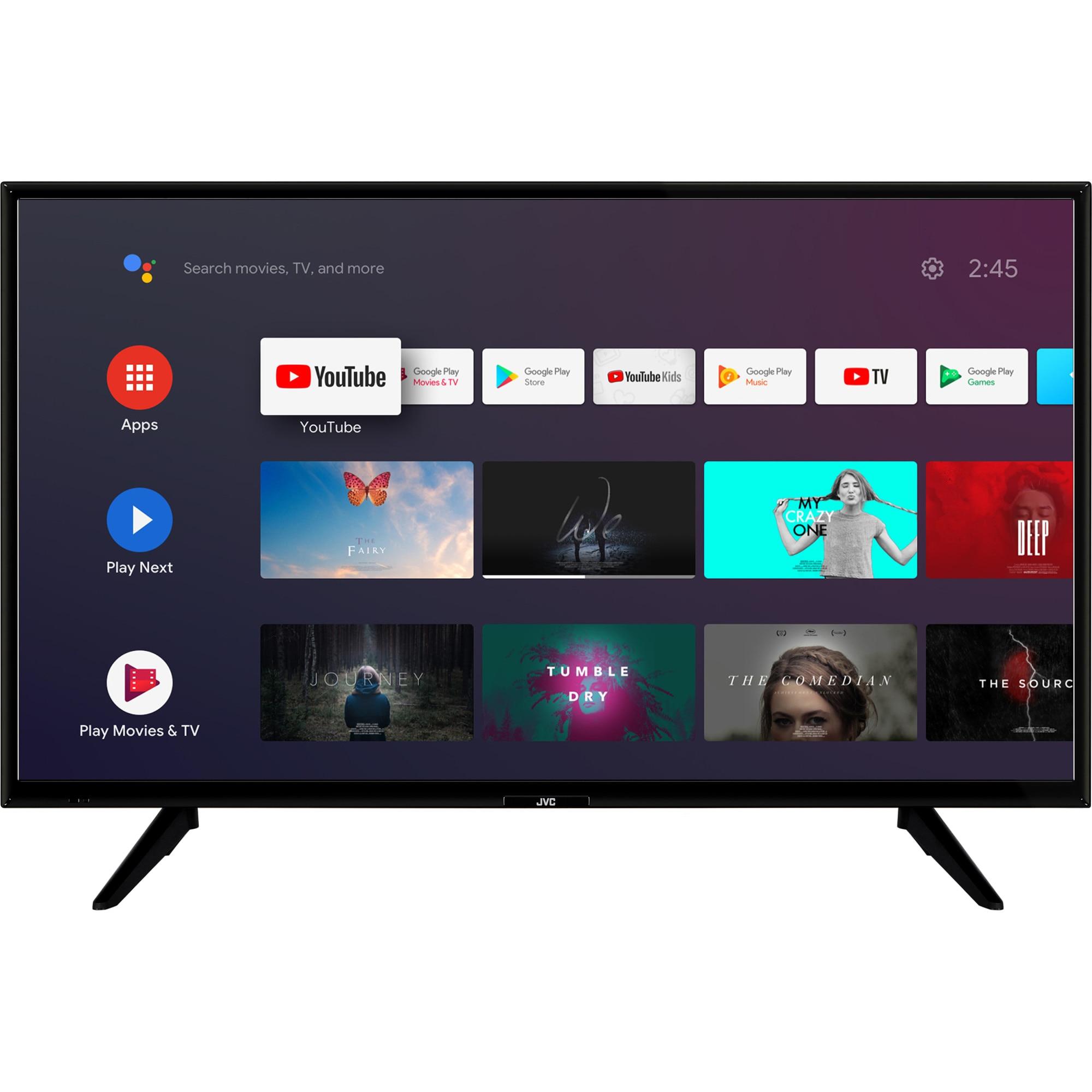 Fotografie Televizor JVC LT-39VAH3000, 98 cm, Smart Android, HD, LED, Clasa E