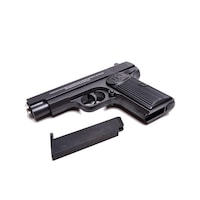 Pistol Airsoft Metalic Pefect K112, Calibru 6mm + 200 Bile Profesionale