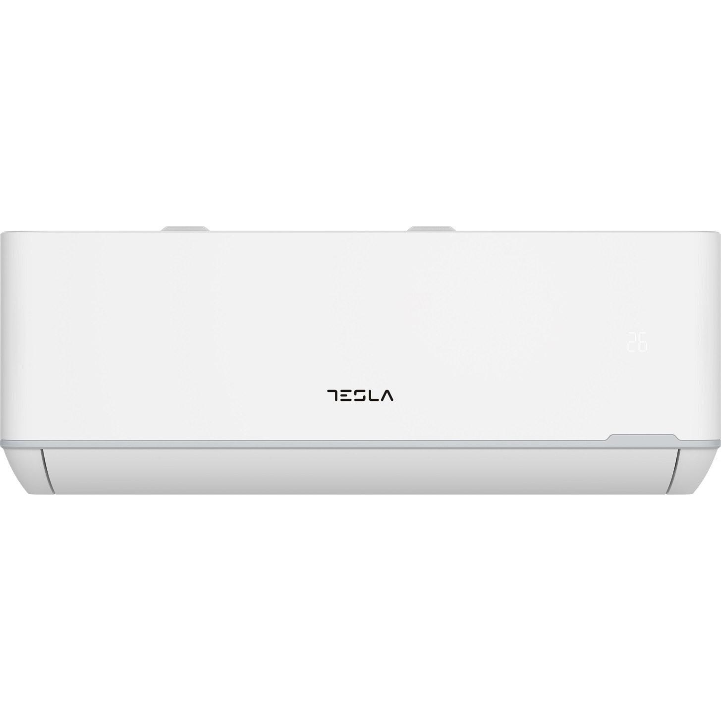 Fotografie Aparat de aer conditionat TESLA TT68TP21-2432IAWUV Wi-Fi, 24000 BTU, Clasa A++, lampa UVC, Functie incalzire, Functie Turbo, I Feel, Autocuratare, Filtru lavabil, alb