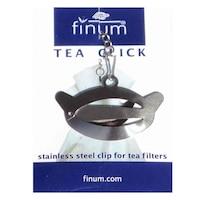Метален клипс за филтър чай NITEC FINUM (inox), код Ч11
