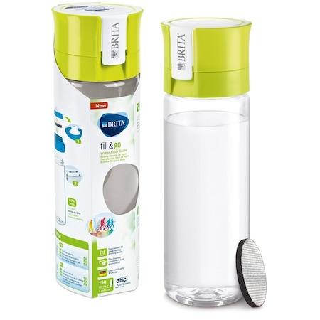 Brita Fill&Go Vital vízszűrő kulacs, 600 ml, lime