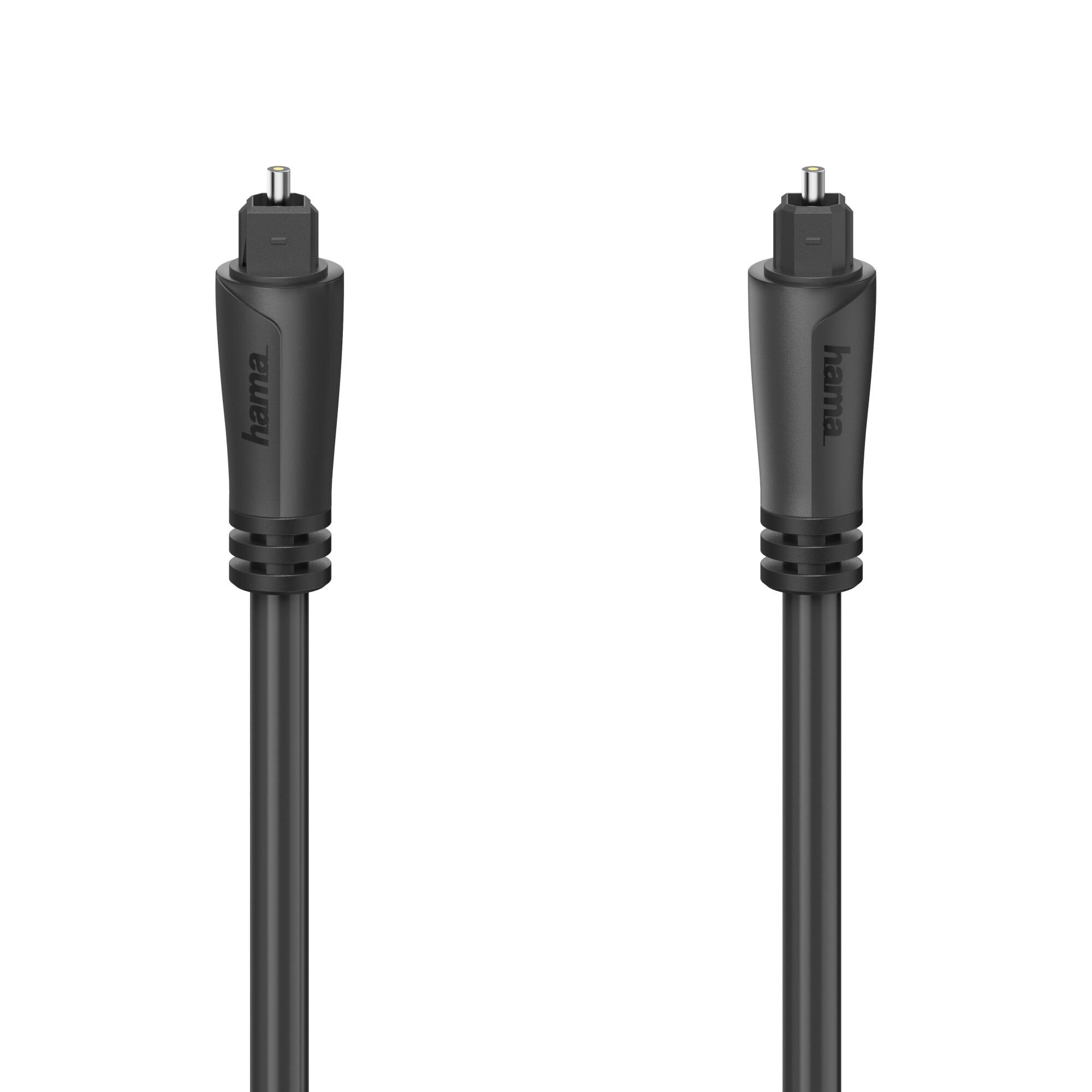 Fotografie Cablu optic Hama 205134, Toslink, 1.5m