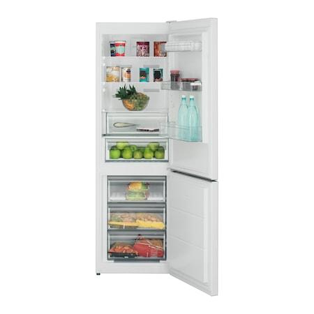 Combina frigorifica Sharp SJ-BA10-IEXW2, 324 l, Advanced NoFrost, Clasa A++, H 186.3, White