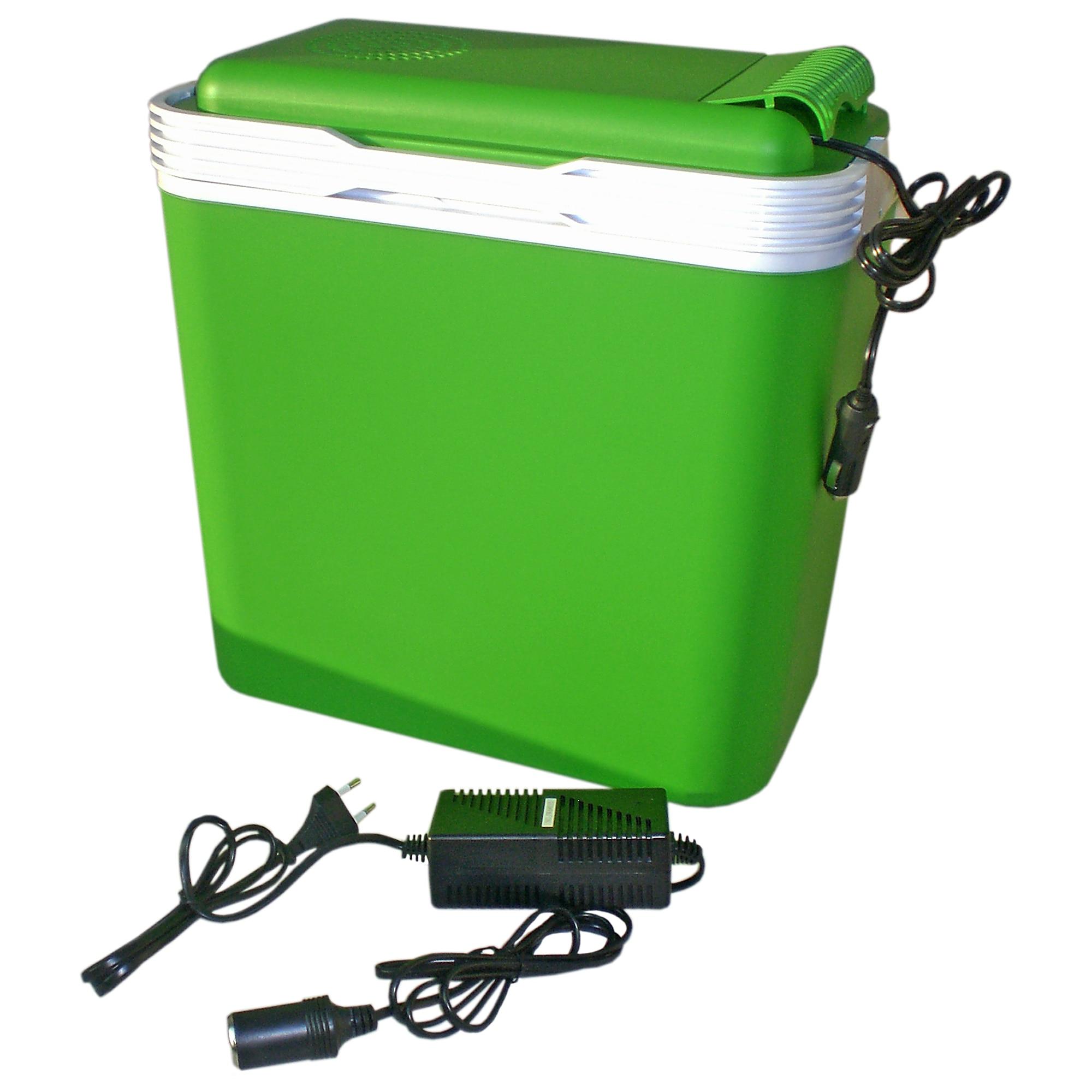 Hálózatról és szivargyújtóról is működtethető elektromos hűtőtáska 24L 12V 230V 48W eMAG.hu