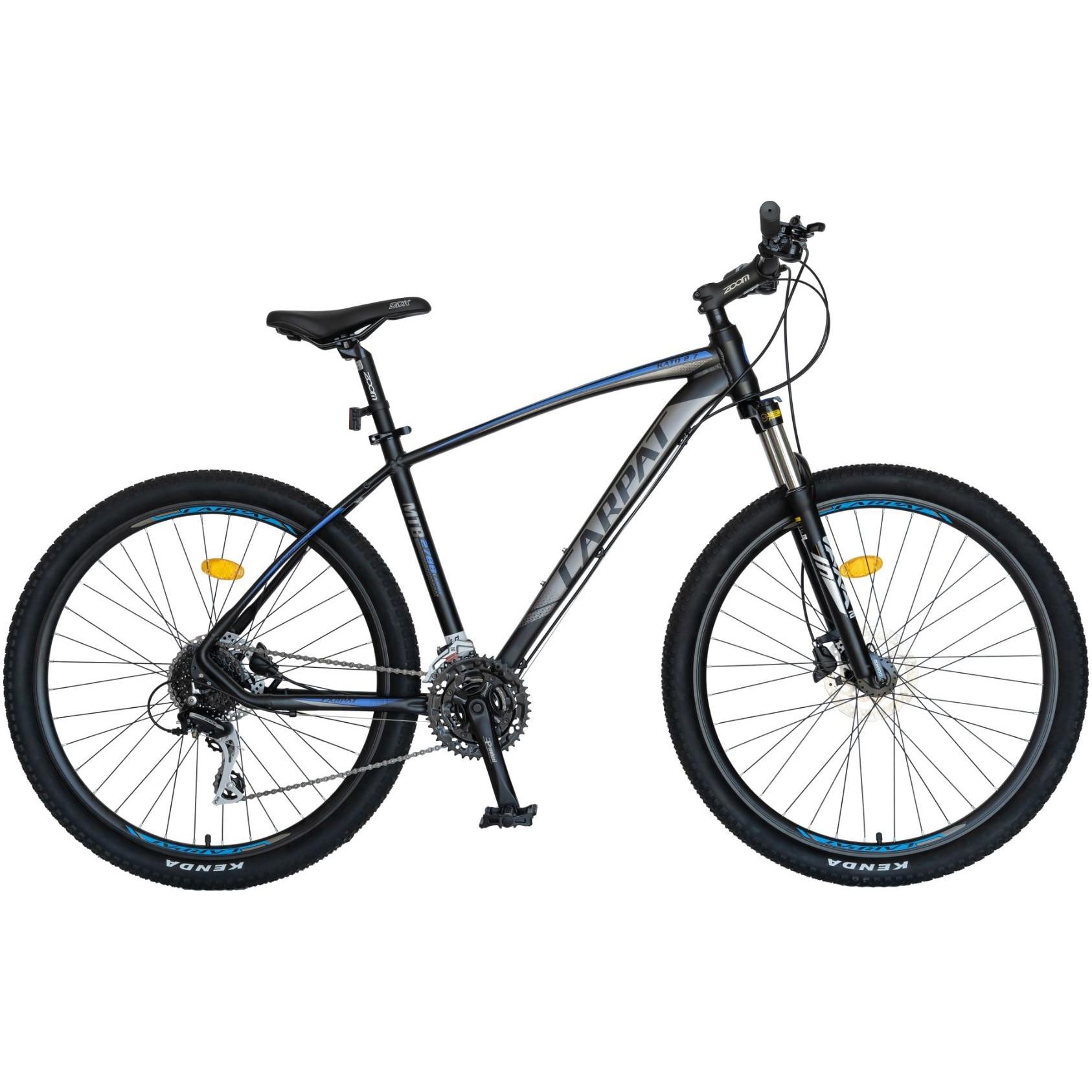 Fotografie Bicicleta Carpat MTB 27'' C2788H Negru/Albastru
