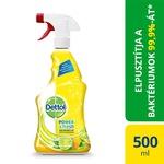 Dettol Power&Fresh Univerzális felülettisztító spray, Citrom&Lime, 500ml