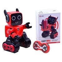 Intelligens robot játék távirányítóval - piros színben